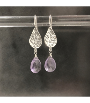 Jeh Jewels Oorhanger, model 17494 (Amethyst) - 10842